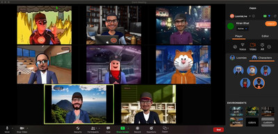 With LoomieLive and Zapp, Zoom callers are just clicks away from attending calls with both an active digital presence and enhanced privacy. Video calls can be fun and productive.