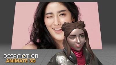 DeepMotion's Animate 3D just launched markerless Face Tracking to go along with their existing full-body AI motion capture solution - all from a single video.