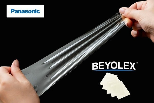 Panasonic Launches Novel Substrate Film Enabling the Development of Soft Printed Electronics